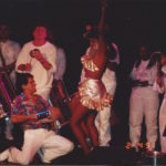 April 2nd 1991 - Ivo Araújo playing with samba band Kilombo dos Palmares at the Ballroom in New York City